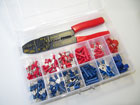 Assortment box 1 terminals with tool (261 pieces)